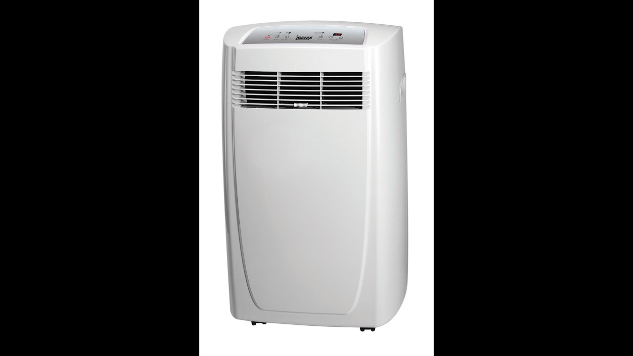 Igenix IG9900 9000 BTU Portable Air Conditioning Unit 900 W Review - YouTube