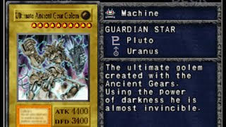 Yugioh FM Alpha Mod 0.9.3 - Ultimate Ancient Gear Golem