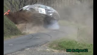 Best of rallyes crash 2018 part.1 (crash show and mistakes) [HD] By HB Rallyes42