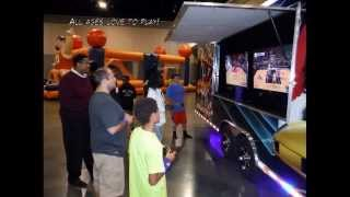 The Best Mobile Video Game Theater! Book Or Buy Today!