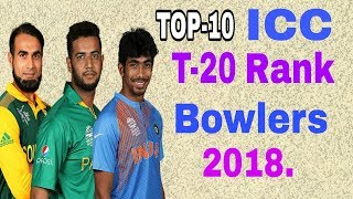 Top 10 T20 Bowlers with ICC Ranking list 2018 ( latest).