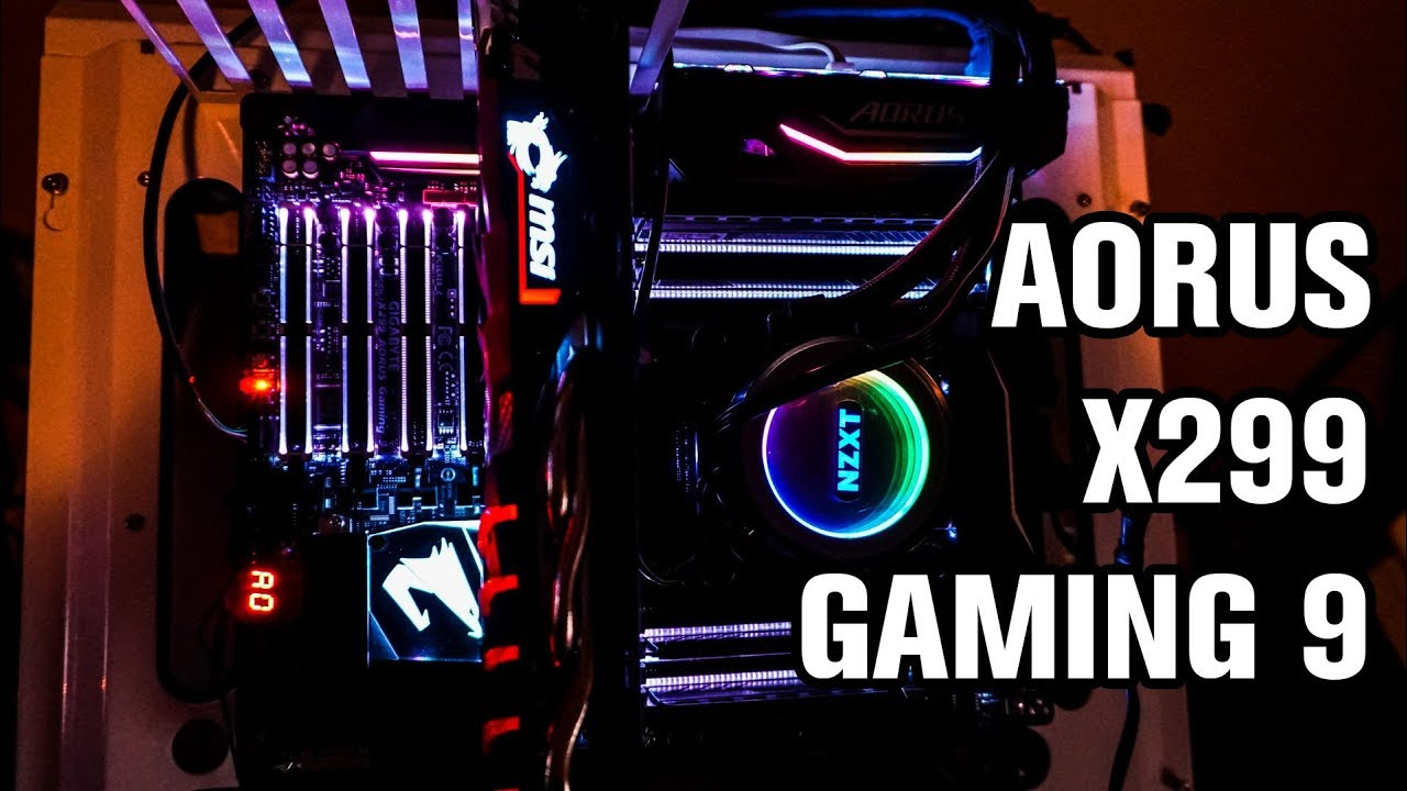 Aorus X299 Gaming 9 Motherboard Review