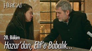 Hazar, Elif'e destek oluyor - Hercai 28. Bölüm
