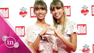 Lisa und Lena freuten sich auf Instagram jetzt über 14 Millionen Fo...