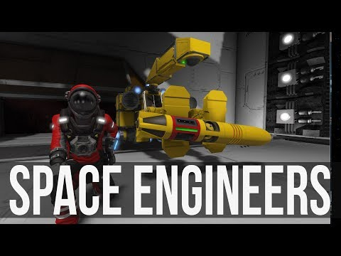 Space Engineers - Deep Space Exploration! Space Pirates Attack the Base! Ep 7