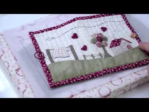 Broderie : Coudre une trousse en patchwork brodé avec Marie Suarez - L