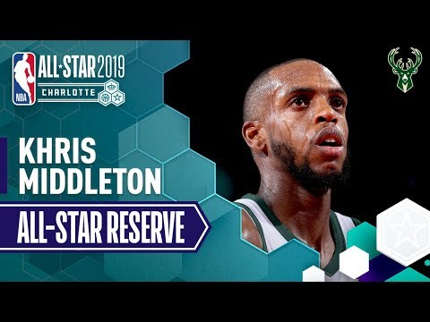 Best Of Khris Middleton 2019 All-Star Reserve | 2018-19 NBA Season