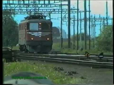SBB Ae 6/6, Erstfeld 1990, TOP-Video Teil 2/3