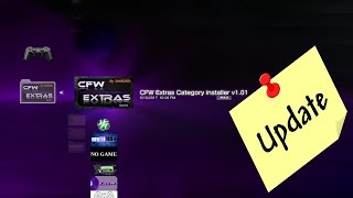 PS3 CFW Extras Category XMB Mod - UPDATE v1.01  small change to this great app