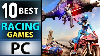 TOP 10 BEST RAĊING GAMES FOR YOUR PC 2020 HIGH GRAPHICS