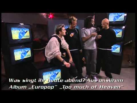 Eiffel 65 - Interview at The Dome 13