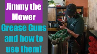 Workshop tutorial. Grease, Grease Guns and how to fill them and use them.