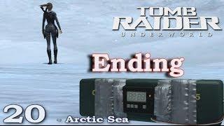 [HD] Tomb Raider Underworld Walkthrough Part 20 ☆ ENDING ☆  -  Arctic Sea - ITA (PS3)