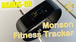 MOSON Fitness Tracker Test: Smart Bracelet Color TFT Display IP68 - ...