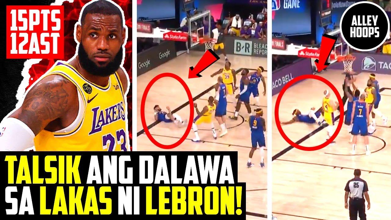 Lebron James PINATALSIK si Murray at Grant! Kinalabaw ang Denver Nuggets! Lakers vs Nuggets Game 1