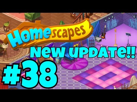 HOMESCAPES Gameplay Story Walkthrough Part #38 | Party Room Day 3 New Day Update