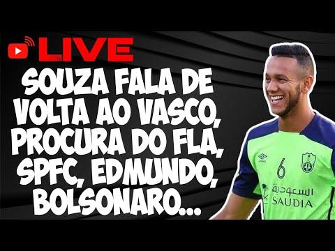 """Ex-jogador do Vasco diz que Edmundo o """"humilhou muito"""": """"me decepcionei"""""""