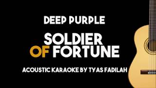 Deep Purple - Soldier Of Fortune (Acoustic Guitar Karaoke Version)