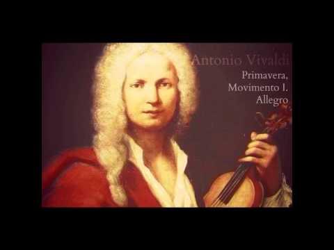Antonio Vivaldi - Primavera, Movimento I. Allegro