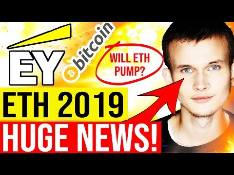 😱 ETHEREUM 2019 - INSANE NEWS 🚨 EY Ethereum Integration