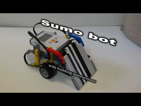 Lego Mindstorms Sumo bot (with LDD building instructions)