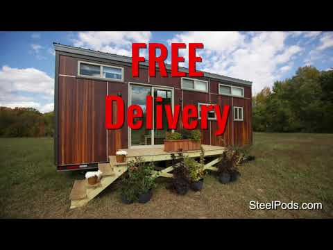 SteelPods com - Insulated Shipping Container Trailers - Tiny Homes - Storage