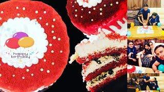 കുറഞ്ഞ ചിലവിൽ വളരെ simple ആയ ഒരു Red Velvet Cake/How To Make Red Velvet Cake...