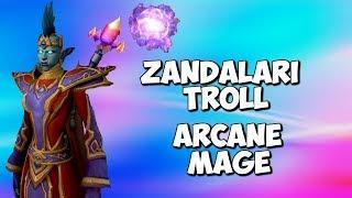 Zandalari Troll - Arcane Mage - Casting Animations