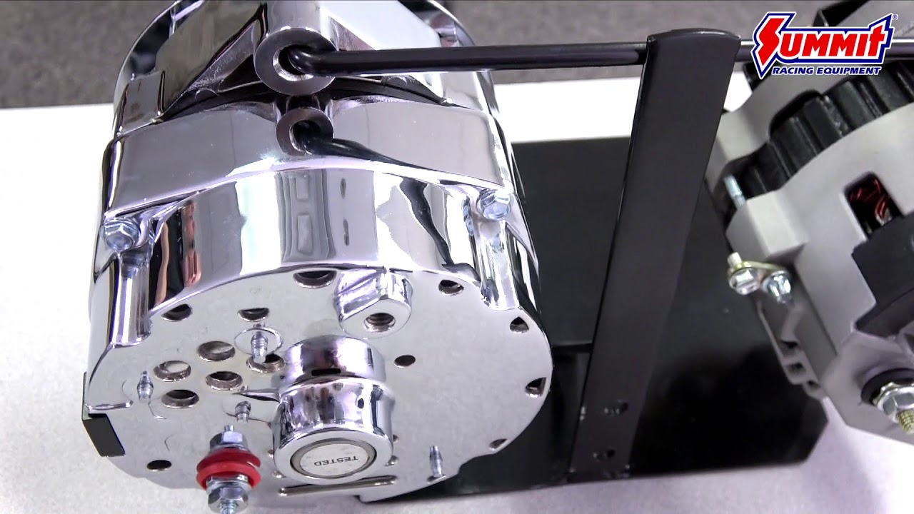 Tuff Stuff Performance Alternators - YouTube | Tuff Stuff Wiring Diagram |  | YouTube