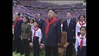 """DPRK National Anthem """"애국가"""" by lovely children"""