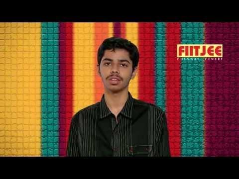 AIR 19 Aniket Murhekar from FIITJEE Chennai Centre