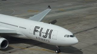 Airbus  A330-200 from Fiji Airways makes first Visit to New Zealand 2013