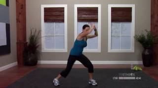 Kickbox workout at home with Dana - 60 Minutes