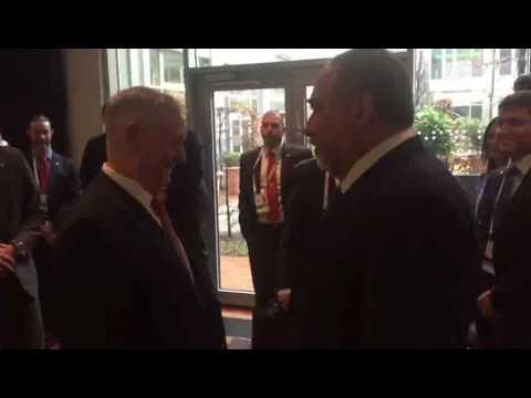 DM Avigdor Liberman meets SoD James Mattis in Munich