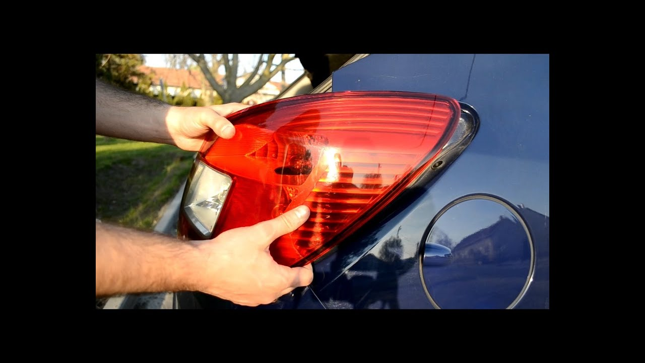 Tail Light Replace Of An Opel Corsa D Youtube B Fuse Box Removal