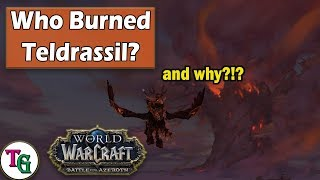 Who Burned Teldrassil And Why?