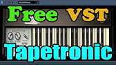 Tapeworm    Free VST Plugin    Mellotron emulation - YouTube