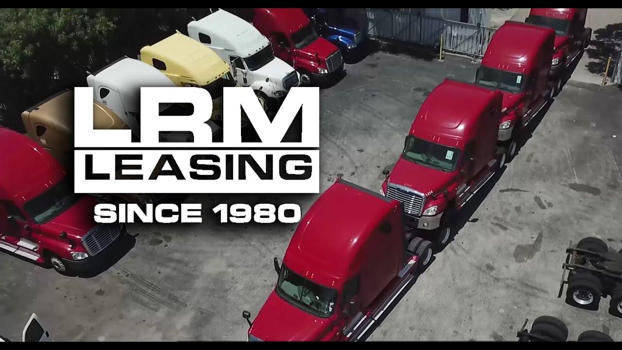 LRM Leasing - No Credit Check Semi Truck Financing