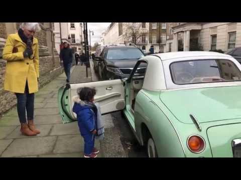 Old Nissan Figaro In London