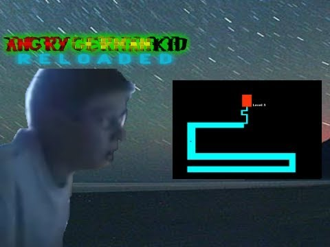 AGK episode 3 Angry german kid plays the scary maze - YouTube