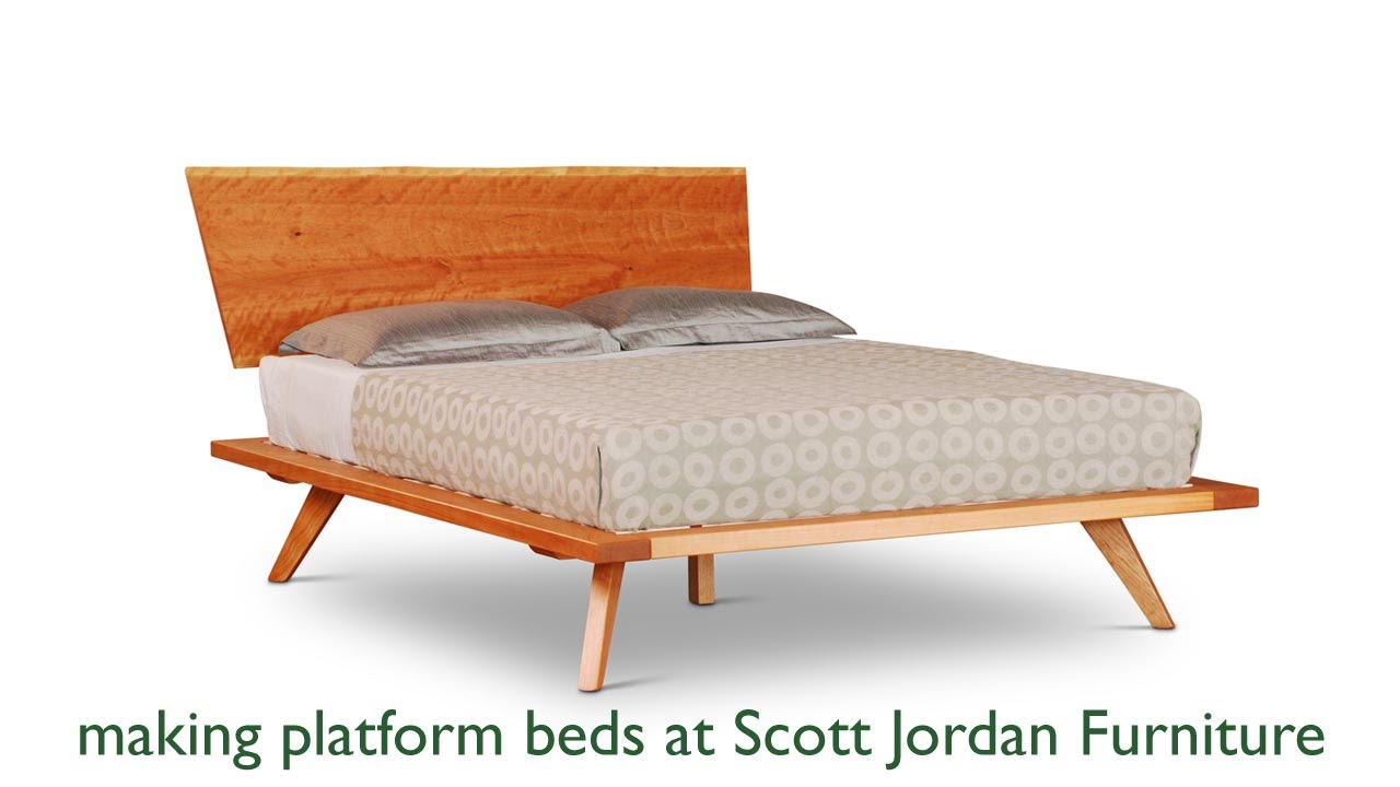 Scott Jordan Furniture Makes Platform Beds.