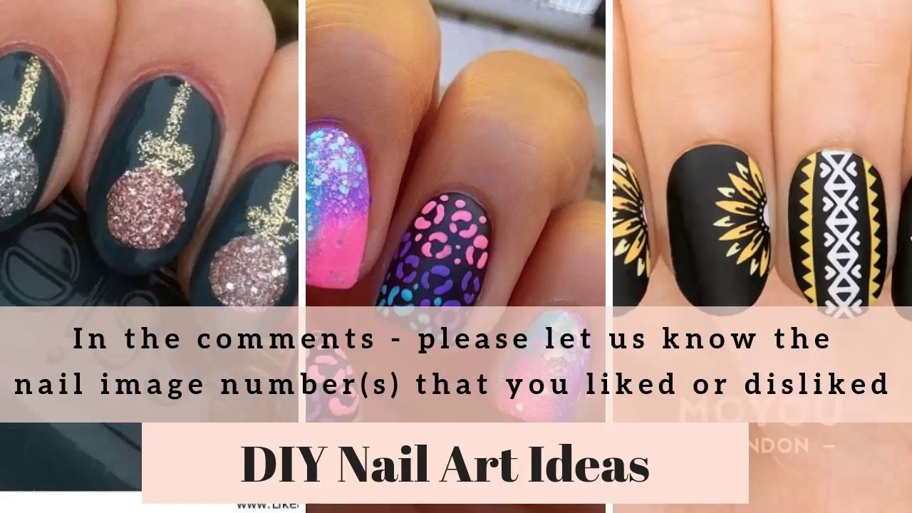 DIY Nail Art 200+Images Do It Yourself Nail Polish Art Ideas, DIY ...