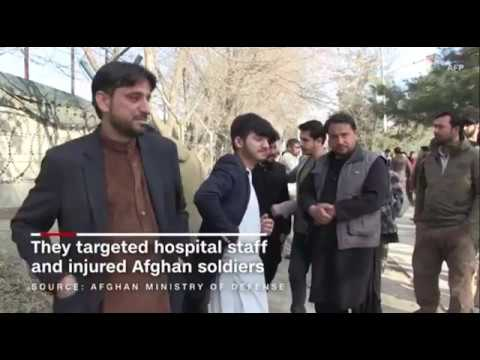 Kabul, Afghanistan: ISLAMIC STATE Suicide Commando Attacks Hospital, Slaughtering Dozens