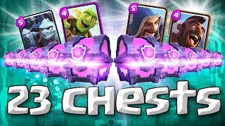 23 MAGICAL CHESTS  ::  Clash Royale   :: EPIC OPENING  ::  I GOT WHAT I WANTED!