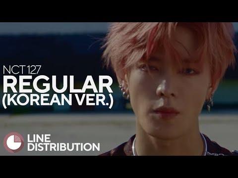 • NCT 127 • Regular • Korean Ver. • Line Distribution •