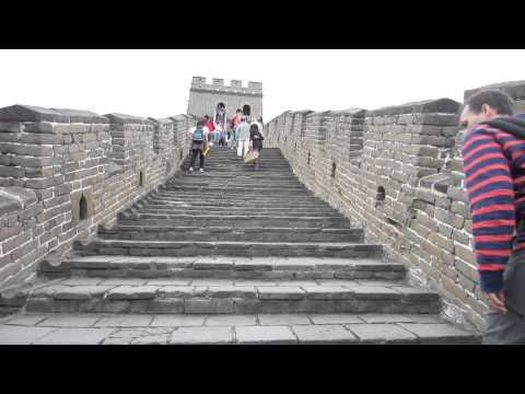 Lopen over Chinese Muur Beijing