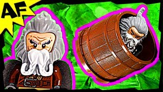 Barrel Escape 79004 Lego The Hobbit Animated Building Review Desolation Of Smaug