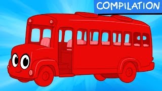 Video My Red Bus Short Adventures - My Magic Pet Morphle Video Compilation For Kids download MP3, 3GP, MP4, WEBM, AVI, FLV Desember 2017