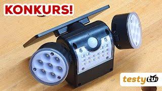 Chiny: Lampa solarna z regulowanymi reflektorami + KONKURS!