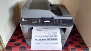 Unboxing amp Print Testing of Brother DCP L2541DW All in One Printer